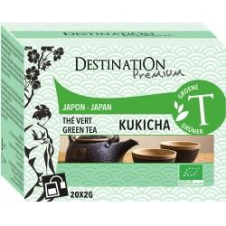 Bio zelený čaj Kukicha 20 x 2 g - Destination